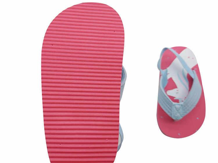 B & G erkek plaj terlik yaz kız Flip flop kaymaz taşınabilir terlik nefes erkek plaj ayakkabısı çocuk sandaletleri