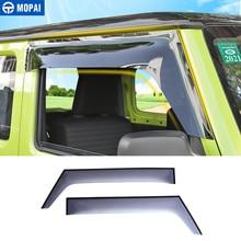 MOPAI Awnings Shelters for Jimny JB74 Car Window Visor Sun Deflector Rain Shade Guard for Suzuki Jimny 2019 Accessories