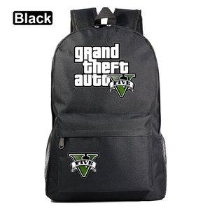 Image 2 - Di modo Caldo di Gioco GTA5 Grand Theft Auto V Della Ragazza del Ragazzo Libro Sacchetto di Scuola Delle Donne Del Sacchetto Pacchetto Adolescenti Zaini Studente Uomini zaino