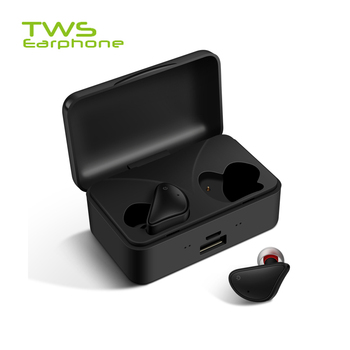 TWSearphone D017 2020 New TWS Headphone Ultra Mini Sport Earphone Large Charging Capacity Earbuds With Mic For Iphone Huawei