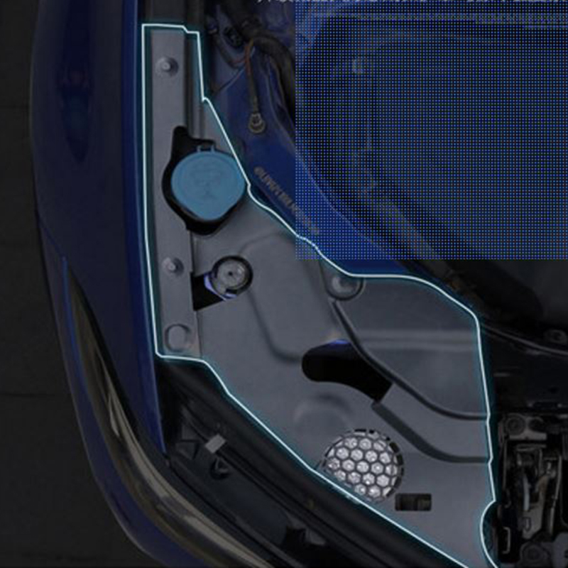 2 Pcs Car Engine Dust Cover Cited ...