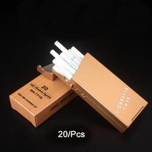 Portable Ladies Cigarette Case Metal Holder Tobacco Box 20 Pcs Creative Compact Automatic Cigar Pocket Gift Box