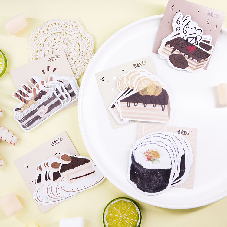 1 Set/lot Memo Pads Sticky Notes Afternoon Tea Series Notepad Diary Scrapbooking Stickers Office School Stationery Notepad