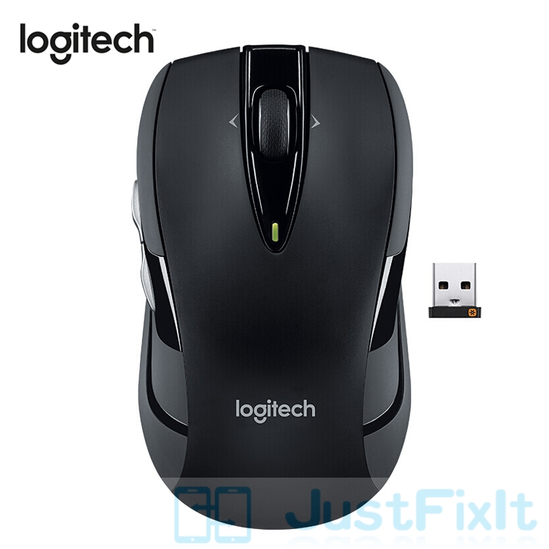 Logitech M546 Wireless Mouse Universal Office Mouse Home Using With 2.4GHz Optical 95.5g For PC/Laptop Gamer 90% New