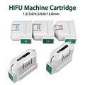2020 г., аппарат HIFU, ультразвуковой преобразователь для лица, сменный картридж для тела, 10000 снимков, антивозрастной преобразователь HIFU