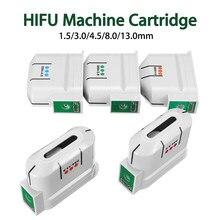2020 hifu máquina ultra-som rosto 10000 tiros corpo facial exmutável cartucho/anti envelhecimento hifu transdutor