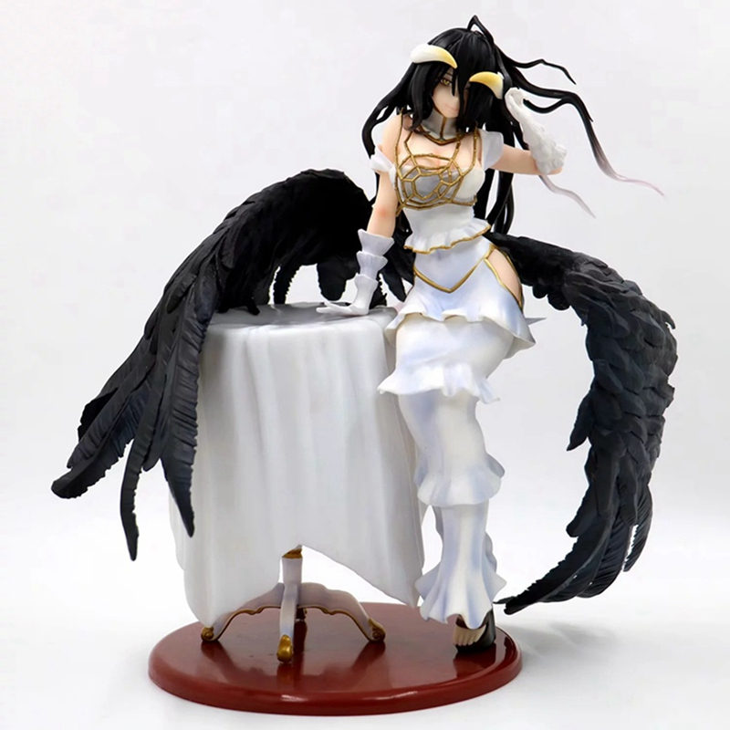 <font><b>Anime</b></font> Overlords Albedo <font><b>Sexy</b></font> Girls 1/7 Scale Painted PVC Action <font><b>Figure</b></font> Collectible Model Toys For Children Christmas Gift image