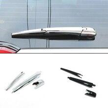 Para toyota desejo acessórios 2009 2012 abs chrome janela traseira do carro brisa limpador braço lâmina capa guarnição moldagem estilo do carro