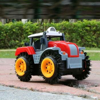 Remote Control Car Children Dump Truck Simulation 4 Wheels For Jeep Stunt Car Off Truck Electric Drive Road RC Toy D7S1 image