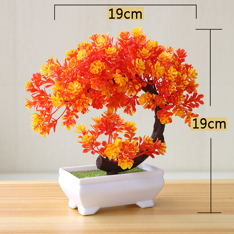Artificial Bonsai Fake Green Pot Plants for Home Decor Craft H66bb131255e245138db5f440fe71c13du artificial bonsai