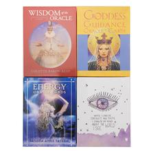 6 Styles English Oracle Cards Deck Tarot Cards Guidance Divination Fate Board Game Play Card Game For Women Playing Party Games все цены
