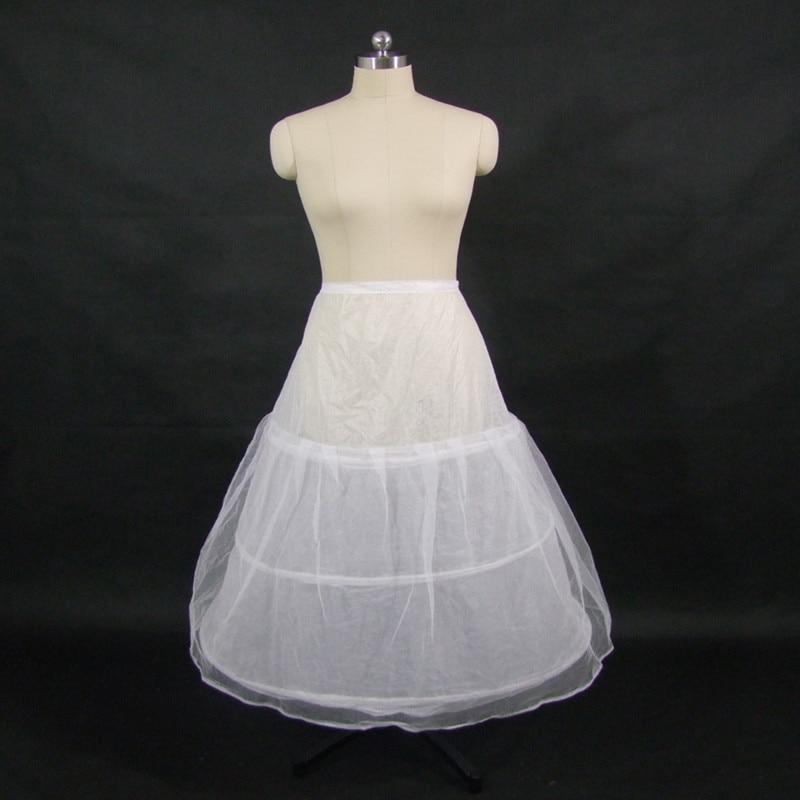 The cheap 3 hoops petticoat