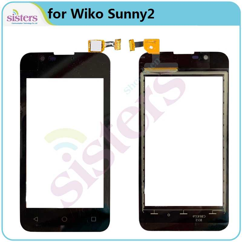 Voor Wiko Sunny2 Sunny4 Y50 Sunny4 Plus Y60 Y80 Touch Screen Digitizer Touch Glas Lens Sensor Touch Panel Telefoon Deel vervanging