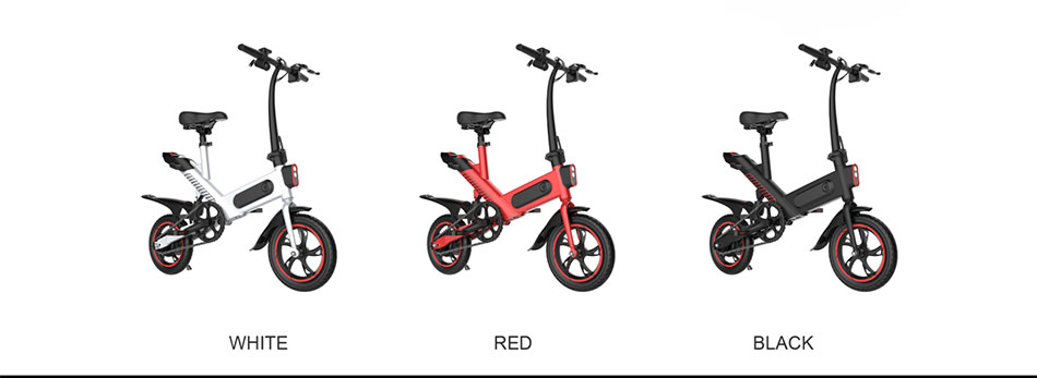350W Electric Bike 10ah Lithium Battery Electric Bicycle 14 inch Folding ebike 50km Range Women Men e-bike City Mini e bike
