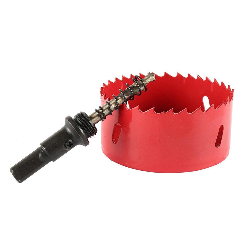 60-65mm M42 HSS Bi-metal Hole Saw Drill Bit for Metal Wood Plastic Plasterboard JS23
