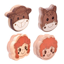 Baby Tooth Box Milk Teeth Keeper Box Lanugo Hair Collection Case Container