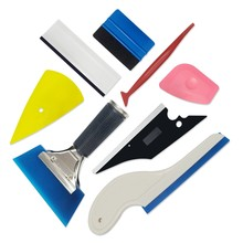 Car Window Tint Tool Kit Vinyl Wrap Film Carbon Sticker Wrapping Tool Carbon Folie Tinting Zuigmond Film Toepassing(China)