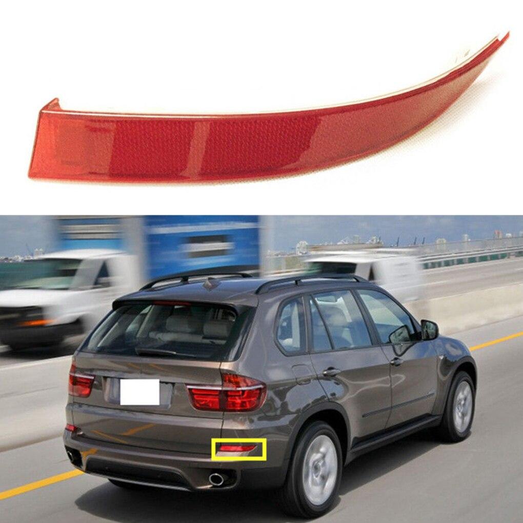 Remplacement rouge de la lumière de lentille de réflecteur de pare-chocs arrière droit/gauche pour BMW E70 2011-2013 63147240998 63147240997