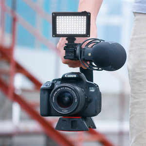 Image 3 - Ulanzi 96 DSLR LED 비디오 빛 카메라 사진 스튜디오 조명 뜨거운 신발 LED 블로그 채우기 빛 램프 스마트 폰 DSLR SLR 카메라