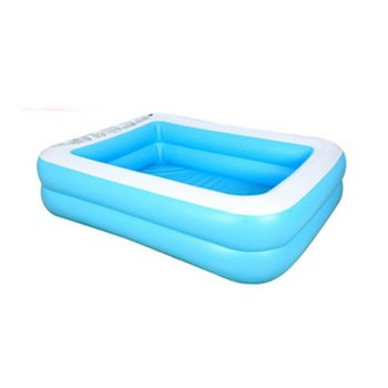 Kids inflatable Pool Children's Home Use Paddling Pool Large Size Inflatable Square Swimming Pool for baby