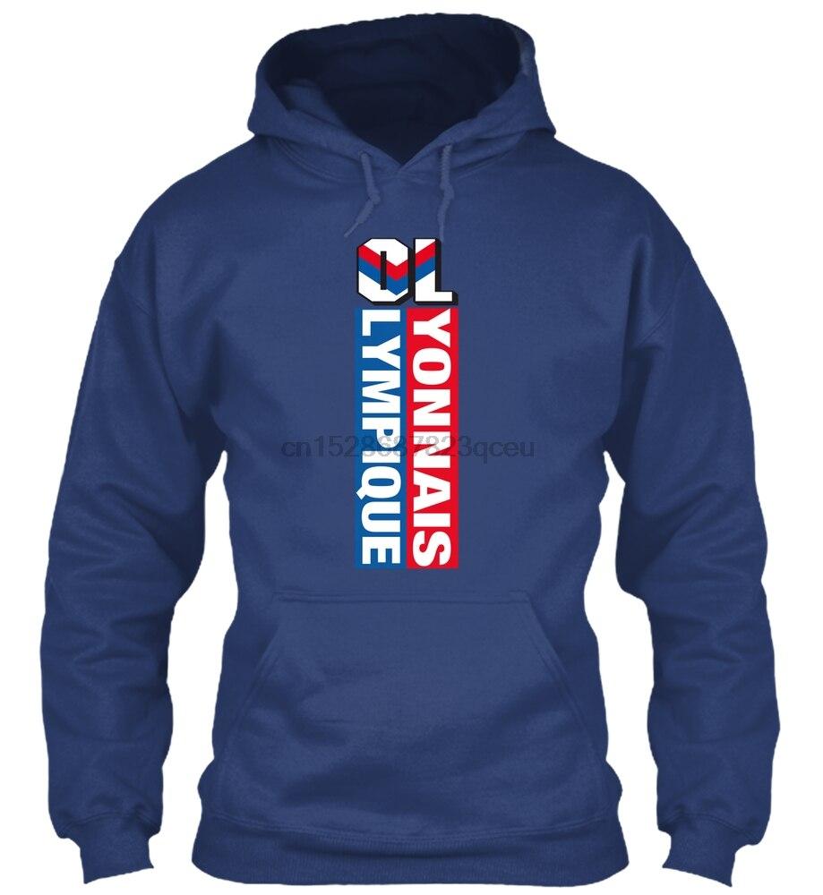 Olympique Lyonnais Sweatshirt Streetwear Men Women Hoodies Sweatshirts