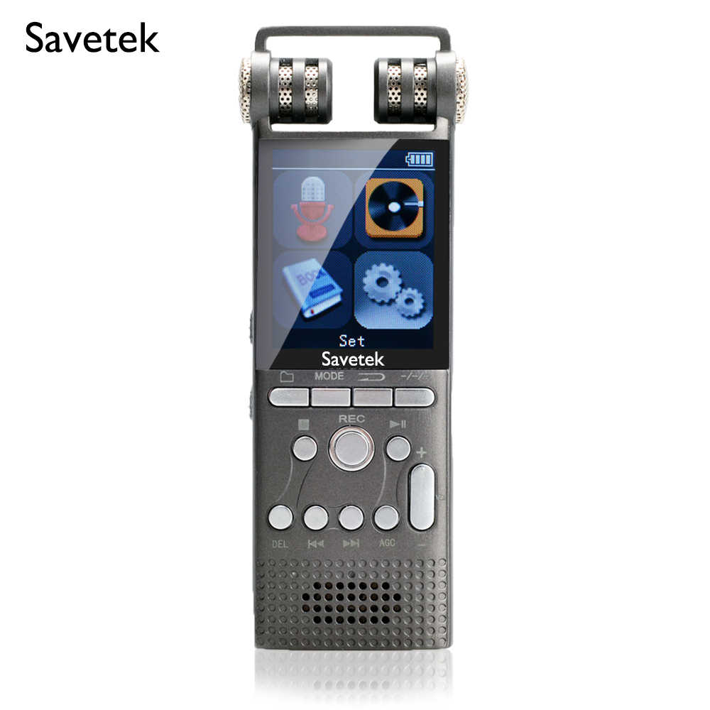 8GB Professional Voice Activated Digital Audio Voice Recorders 8GB 16GB USB Pen PCM 1536Kbps with Lossless Hifi Mp3 Player eBook For Meetings Lectures Notes With Password Protection Noise Cancellation External Microphone /…