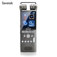 Enregistreur vocal Audio numérique professionnel activé par la voix 8GB 16GB stylo USB 100hr enregistrement Non Stop PCM 1536Kbps Hifi lecteur MP3