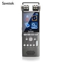 Profesjonalne aktywowana głosem cyfrowy Audio dyktafon 8GB 16GB USB Pen non stop 100hr nagrywania PCM 1536 kb/s Hifi MP3 odtwarzacz