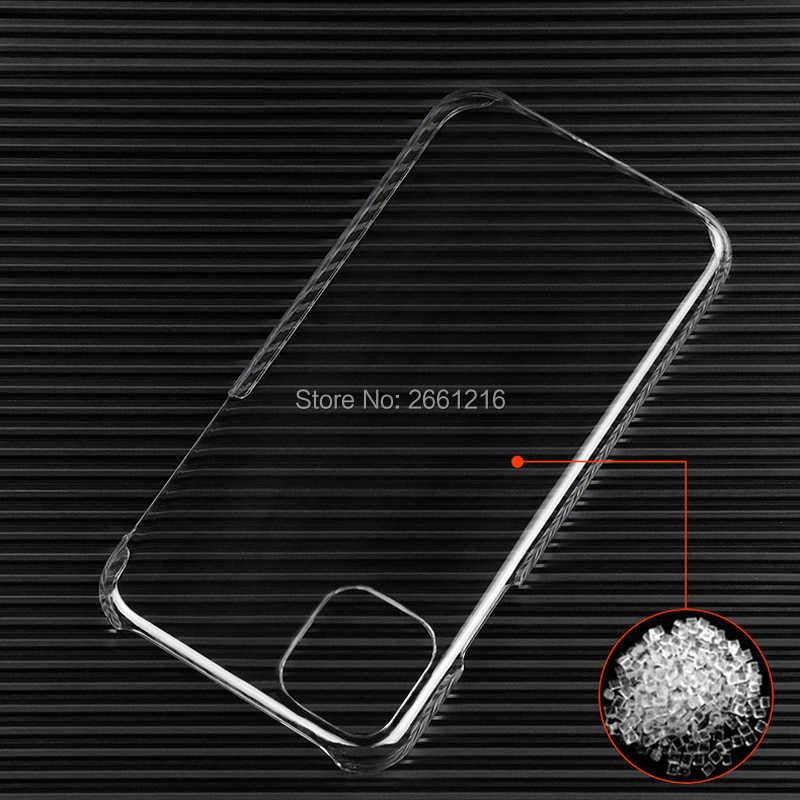 Cho Iphone 11 Pro XS Max XR X 8 Cho IPod Touch 7 6 6S Plus 5 4 SE 5S Slim Rõ Ràng Ốp Lưng Nhựa Cứng Nhám Giành Pha Lê Bóng Ốp Lưng