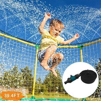 1PC trampolín de rociadores de agua de manguera con interruptor de conector de alta presión mejor juguetes para verano, exterior para niños fuera de 20515