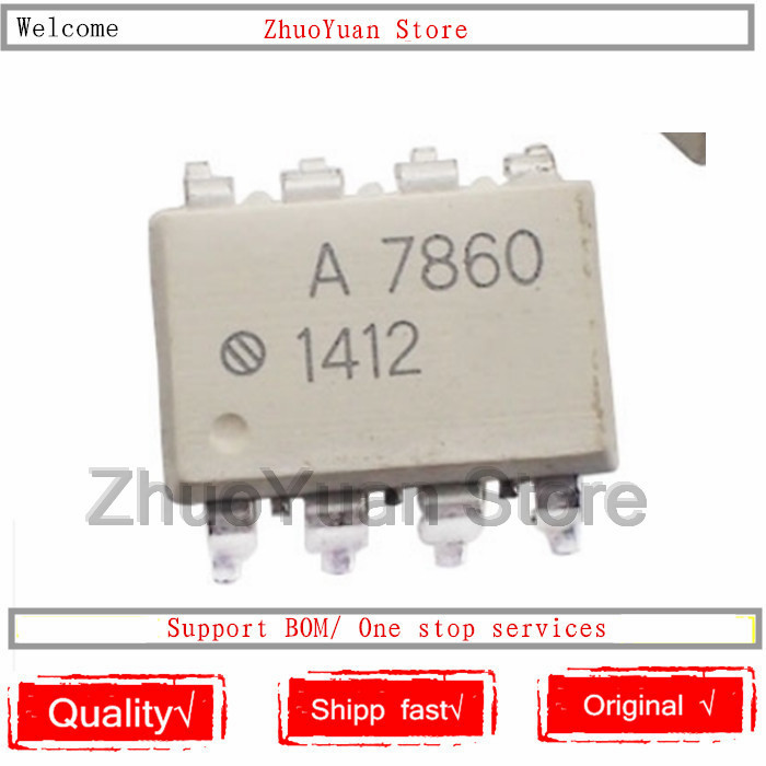 1PCS/lot New Original HCPL-7860 A7860 SOP-8 HCPL7860 IC Chip