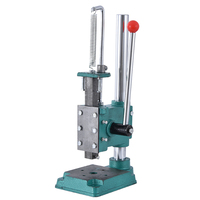 JM-32 Small Manual Punching Press Professional Desktop Hand Punching Machine Height Adjustable Hand Press Square-head/Round-head