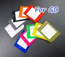 1 pc/lote de alta qualidade colorido protetor plástico lente da tela para gameboy gb dmg tela protetora reparação lente parte