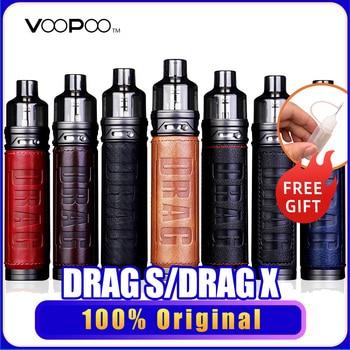 VOOPOO Drag X Drag S – Kit de Cigarette électronique 80W, réservoir de 4.5ml PnP Pod GENE.TT Chip, e-cig, système de vapoteur VS Drag 3