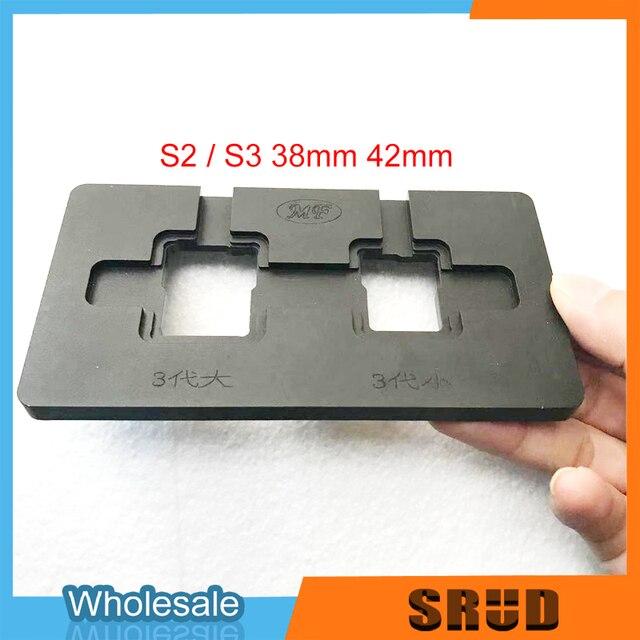 אלומיניום יישור מתכת עובש עבור אפל שעון 1 2 3 4 38mm 40mm 42mm 44mm LCD מגע מסך זכוכית OCA רבד יישור עובש