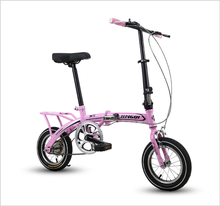 high quality carbon 12 inch bike portable light folding bicycle for adult/teenagers free shipping