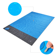 200x210cm Portable Pocket Picnic Mat Waterproof Beach Mat Outdoor Camping Folding Blanket Tent Cover bed beach blanket