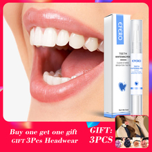 EFERO Teeth Whitening Pen Dental Tool Bleaching Tooth Whitener Gel Oral Hygiene Care Whitening Essence Tooth Pen Cleaning 5ml stainless steel dental bleaching tool mouth mirror dentist pick tool dental hygiene oral care teeth whitening tooth cleaning kit