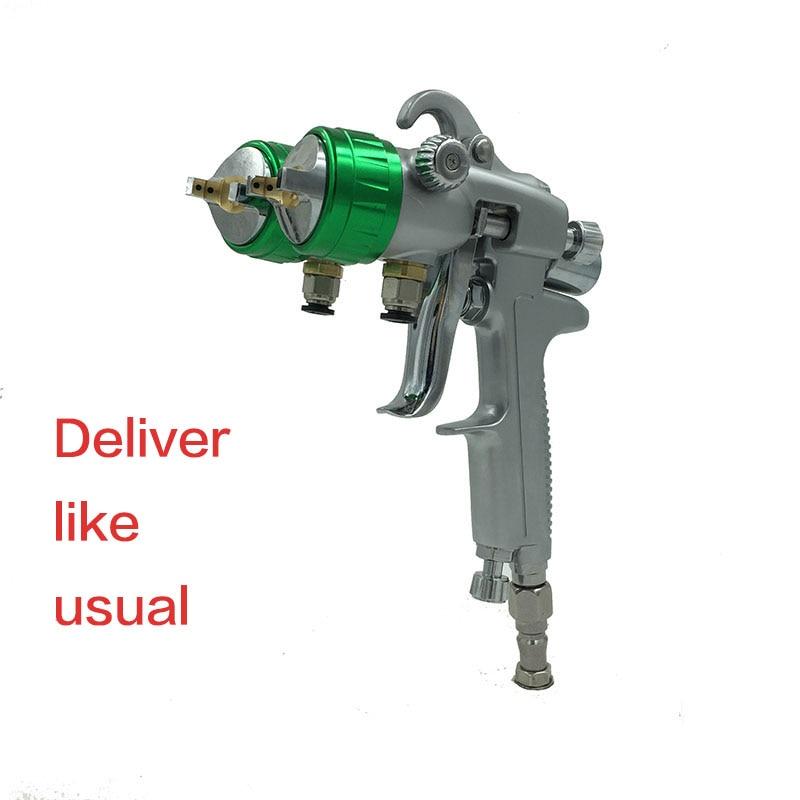 SAT1189 nano krómfestékszóró pisztoly nagynyomású kettős - Elektromos kéziszerszámok - Fénykép 1