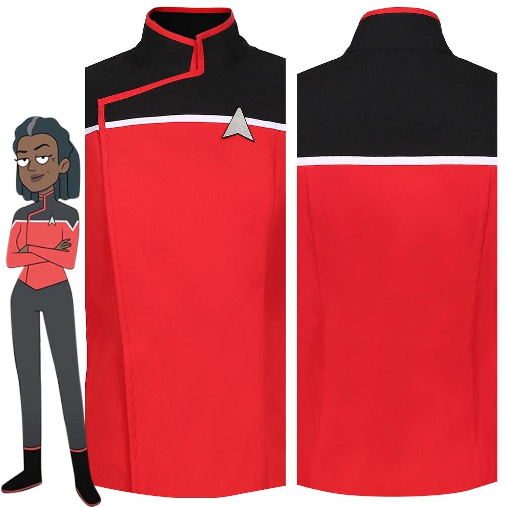 Lower Decks Season 1 Cosplay Costume Blue Uniform Top Shirt Details about  /Star Trek