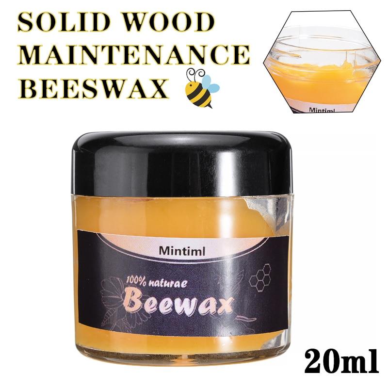 1 Bottle Wood Seasoning Beewax Solid Wood Maintenance Cleaning Furniture Polishing Waterproof Furniture Care Wax