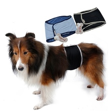 Dog-Diapers Wraps Pet-Underwear Physiological-Pants Dogs Male Reusable for Meidium Small
