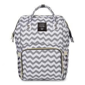Вместительная сумка для мам, многофункциональный рюкзак для мам и мам, водонепроницаемая сумка для подгузников на плечо, дорожная кожаная с...