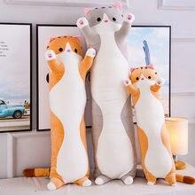 Miękkie/słodkie/pluszowe/długi kot/poduszka/bawełniana lalka zabawka biuro obiad poduszka do spania prezenty świąteczne prezenty urodzinowe prezenty dla dziewczynek