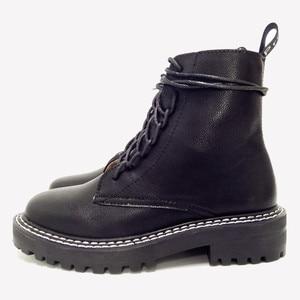 Image 3 - Doratasia 2020 빅 사이즈 43 패션 오토바이 부츠 브랜드 디자인 발목 부츠 여성 신발 신발 끈 멋진 신발 여성 부츠 여성