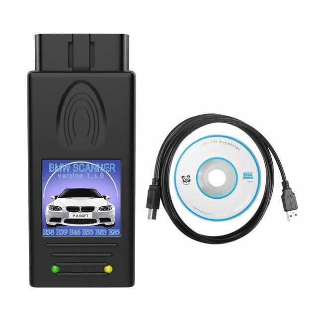 Cho Xe BMW Máy Quét 1.4.0 OBD Dụng Cụ Sửa Chữa Đa Năng Mở Khóa Phiên Bản USB Giao Diện Chẩn Đoán Cho Windows XP