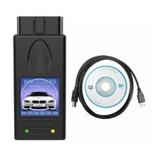 Interfaz de diagnóstico USB para BMW, versión de desbloqueo multifunción, Herramientas de reparación OBD, para Windows XP