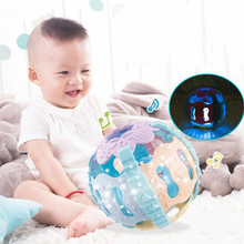Baby Toys Rattles Light Ball-Game Funny Music Educational Soft Kids Children Molar Hand-Grasping