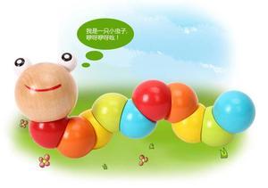 Развивающая игрушка для детей, развивающая игрушка в виде червя в меняемой форме