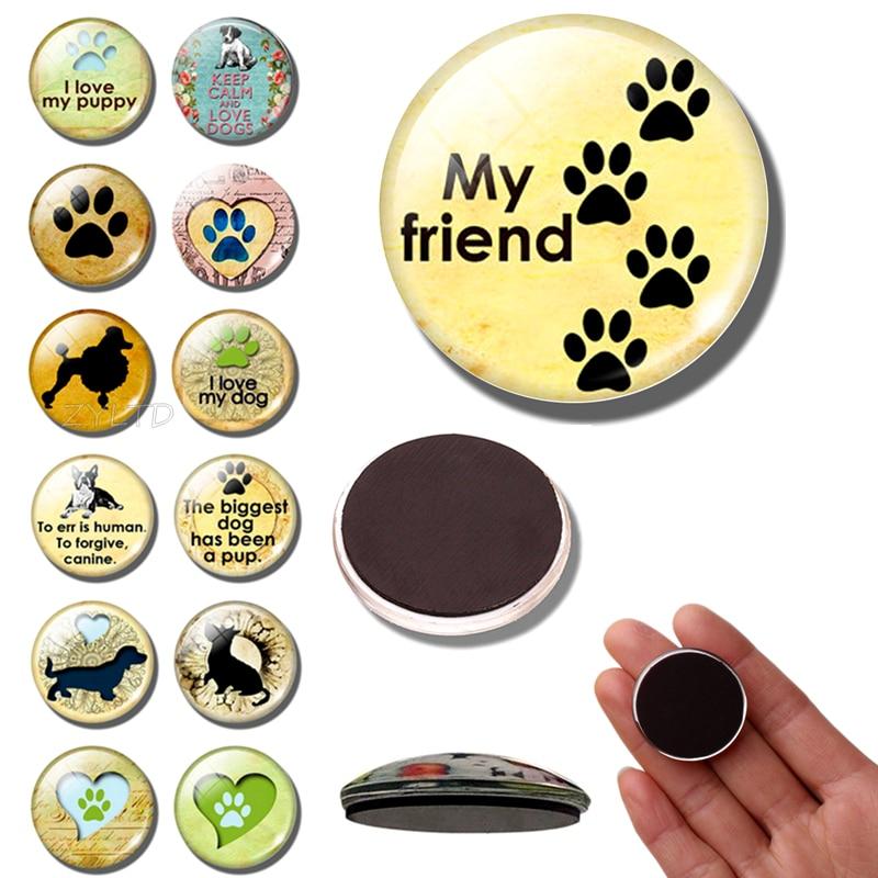 1 шт., магнит на холодильник для собак и щенков